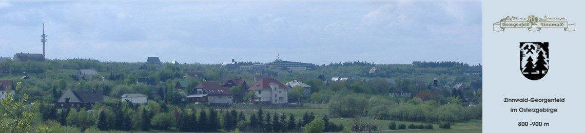 Zinnwald-Georgenfeld im Erzgebirge